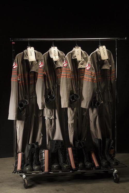 Ghosbusters le nuove uniformi