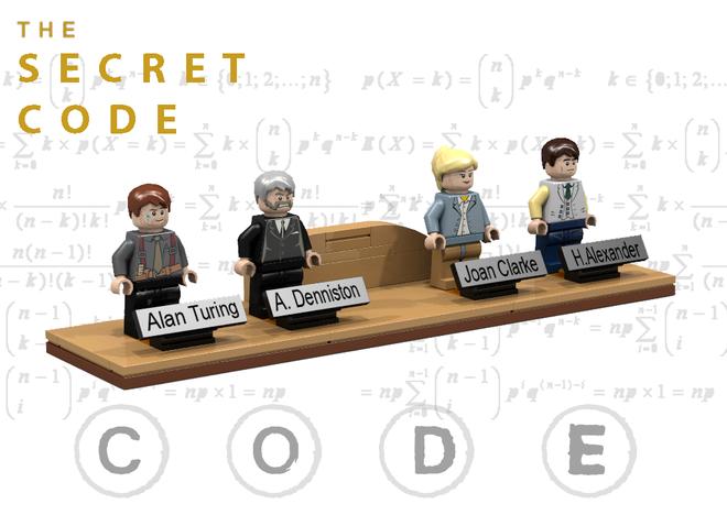 Lego The Secret code 001