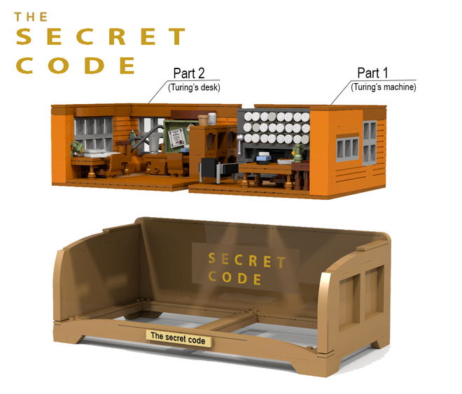 Lego The Secret code 002