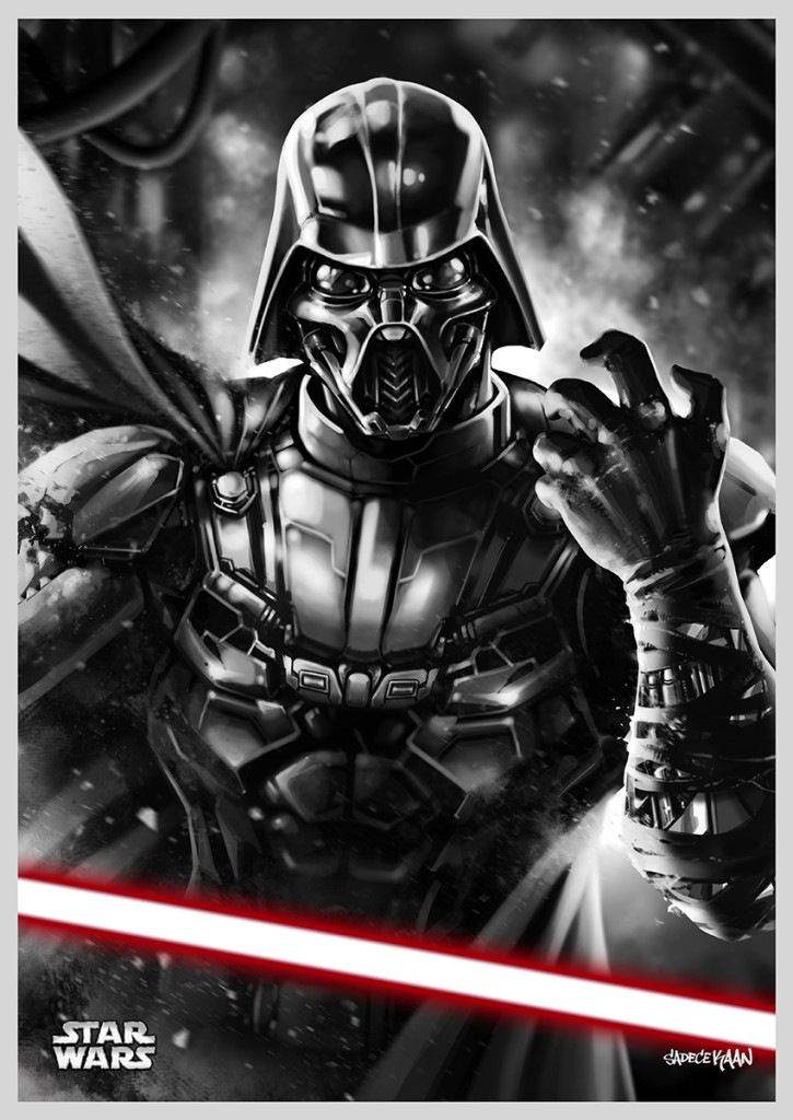 Darth Vader reimagined