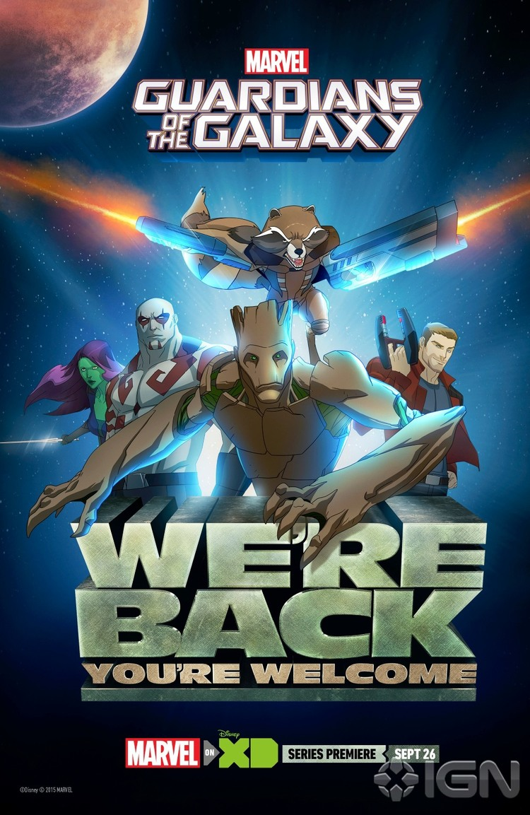 Guardians of The Galaxy animated series