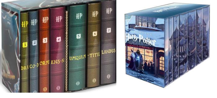 cofanetto libri harry potter prima edizione