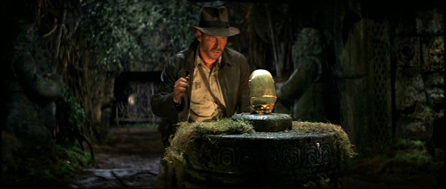 Indiana Jones idolo