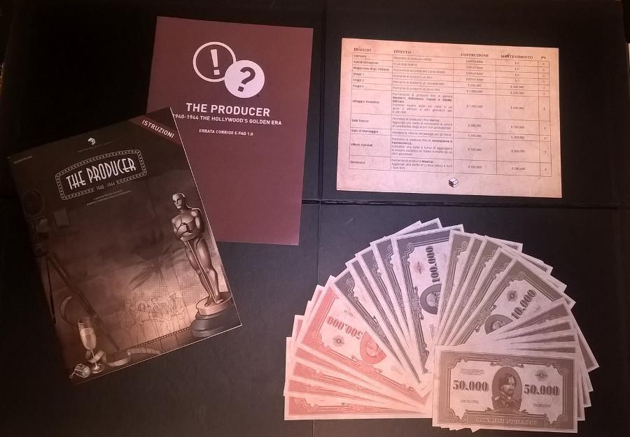 The Producer manuali e denaro