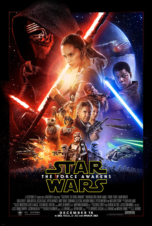 Star Wars Force Awakens poster 500px