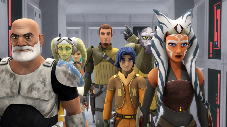 Star Wars Rebels Rex Ahsoka