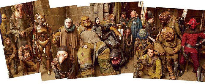 Star Wars pubblicazioni Vanity Fair