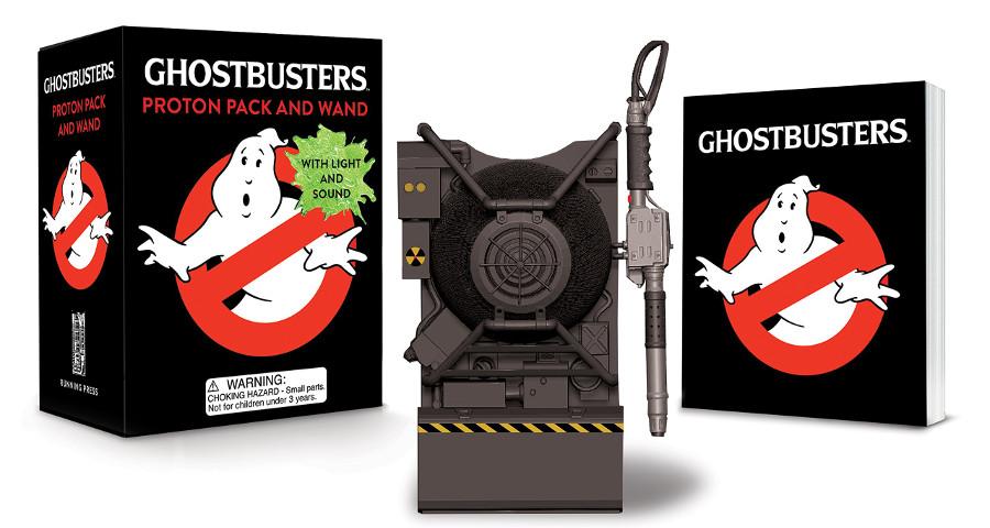 Zaino e libretto Ghostbusters