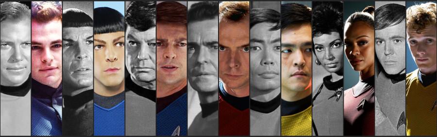 Star Trek vecchia e nuova generazione