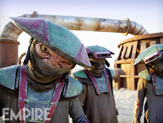 Star Wars: The Force Awakens Constable Zuvio