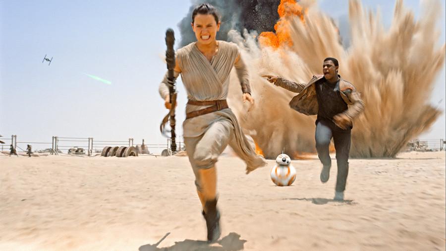 Star Wars Rey-Finn copertina