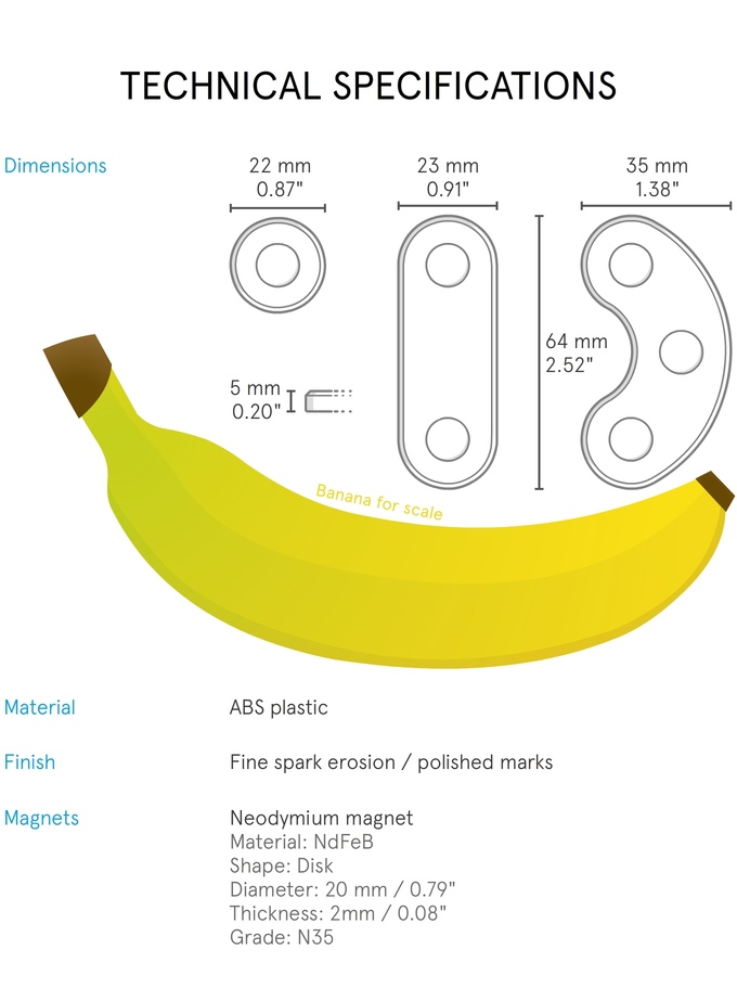 Magination banana for scale