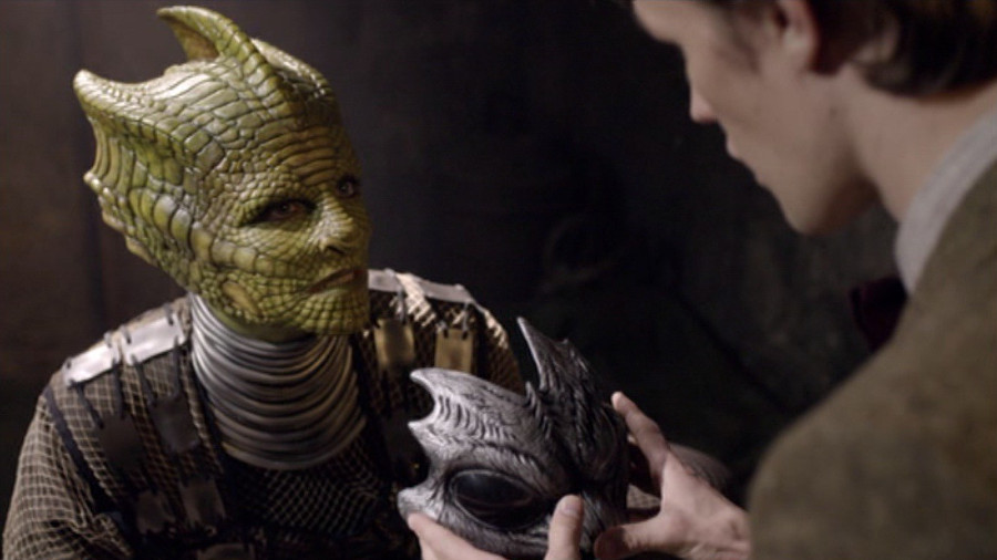 Doctor Who The Hungry Earth Reptilians