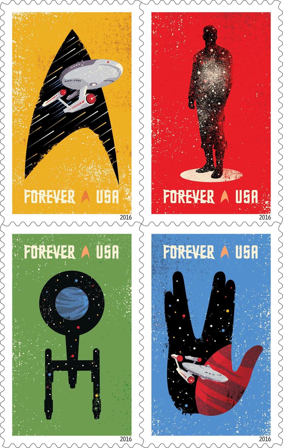 Star Trek francobolli