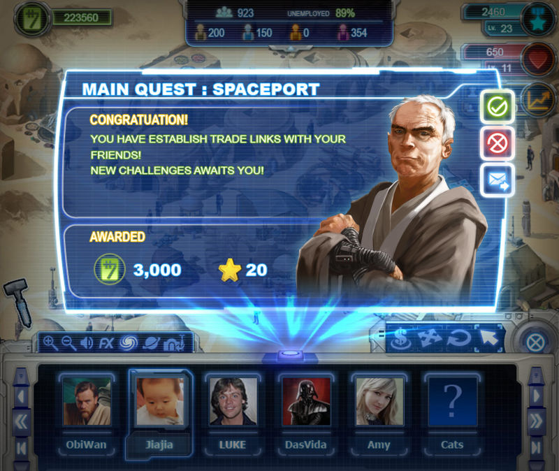 Star Wars Outpost obiettivo