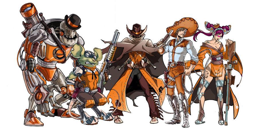 Bandits from Mars