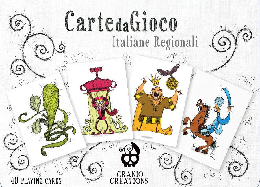 Carte regionali Cranio Creations