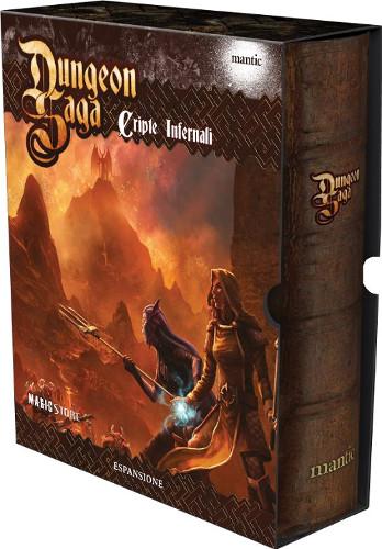 Dungeon Saga cripte infernali scatola