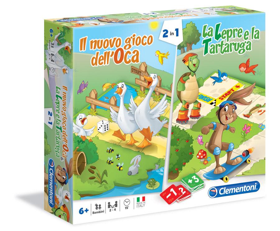 Il nuovo gioco dell'oca la lepre e la tartaruga scatola
