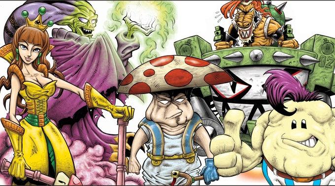 Mushroom Kingdom personaggi