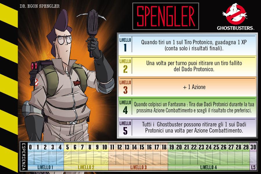 Ghostbusters gioco da tavolo Spengler