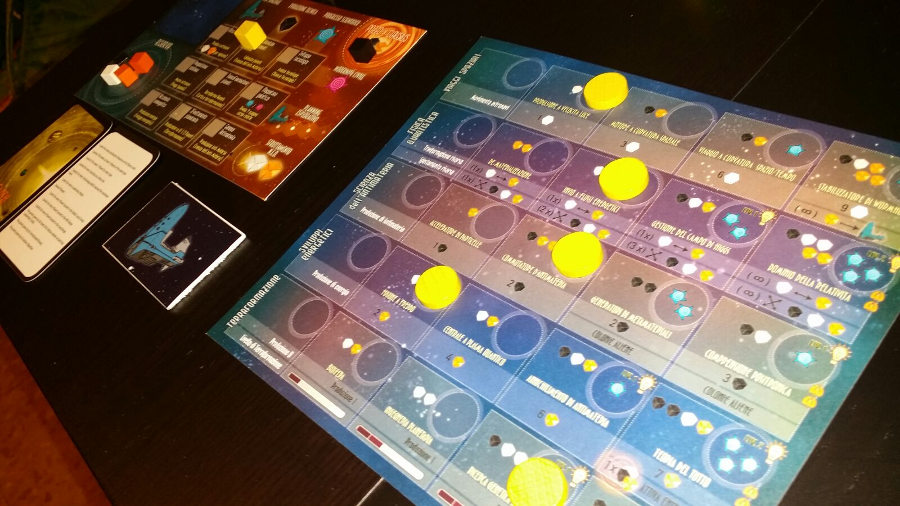 Kepler 3042 plancetta giocatore