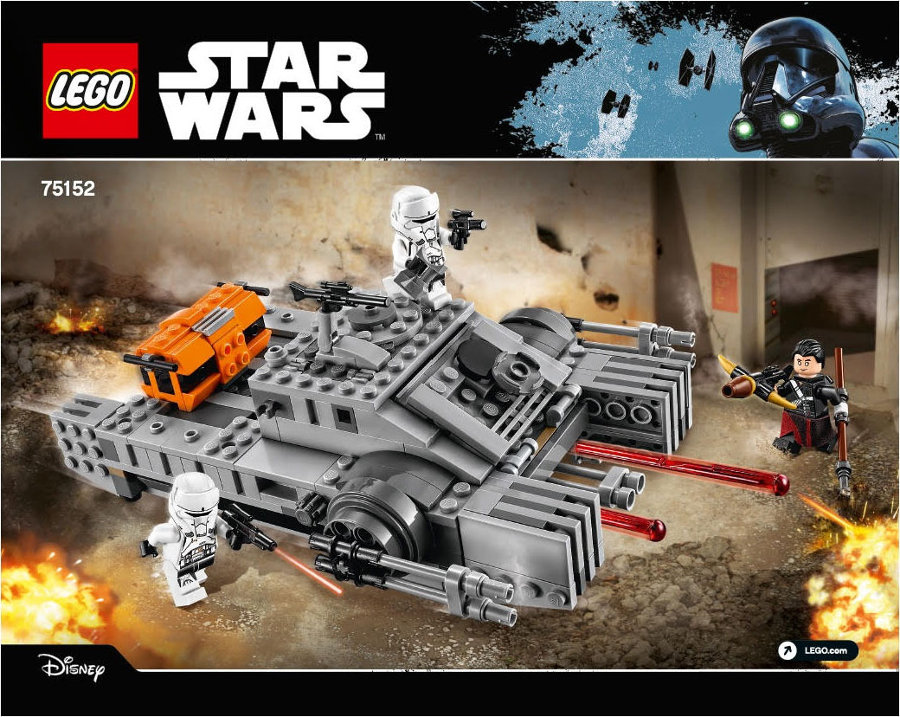 Lego Rogue One tank