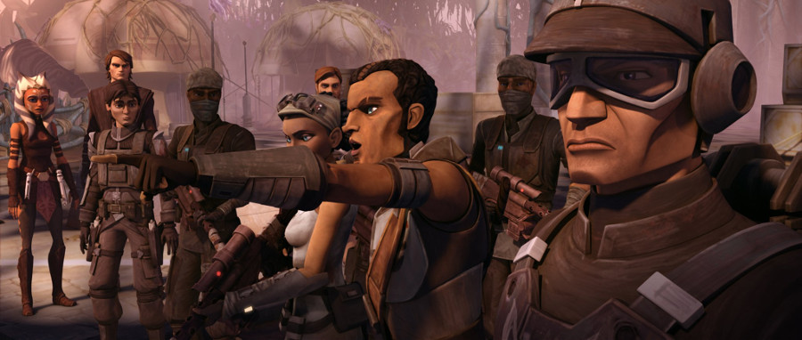 Saw Gerrera The Clone Wars