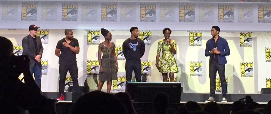 Black Panther cast SDCC 2016