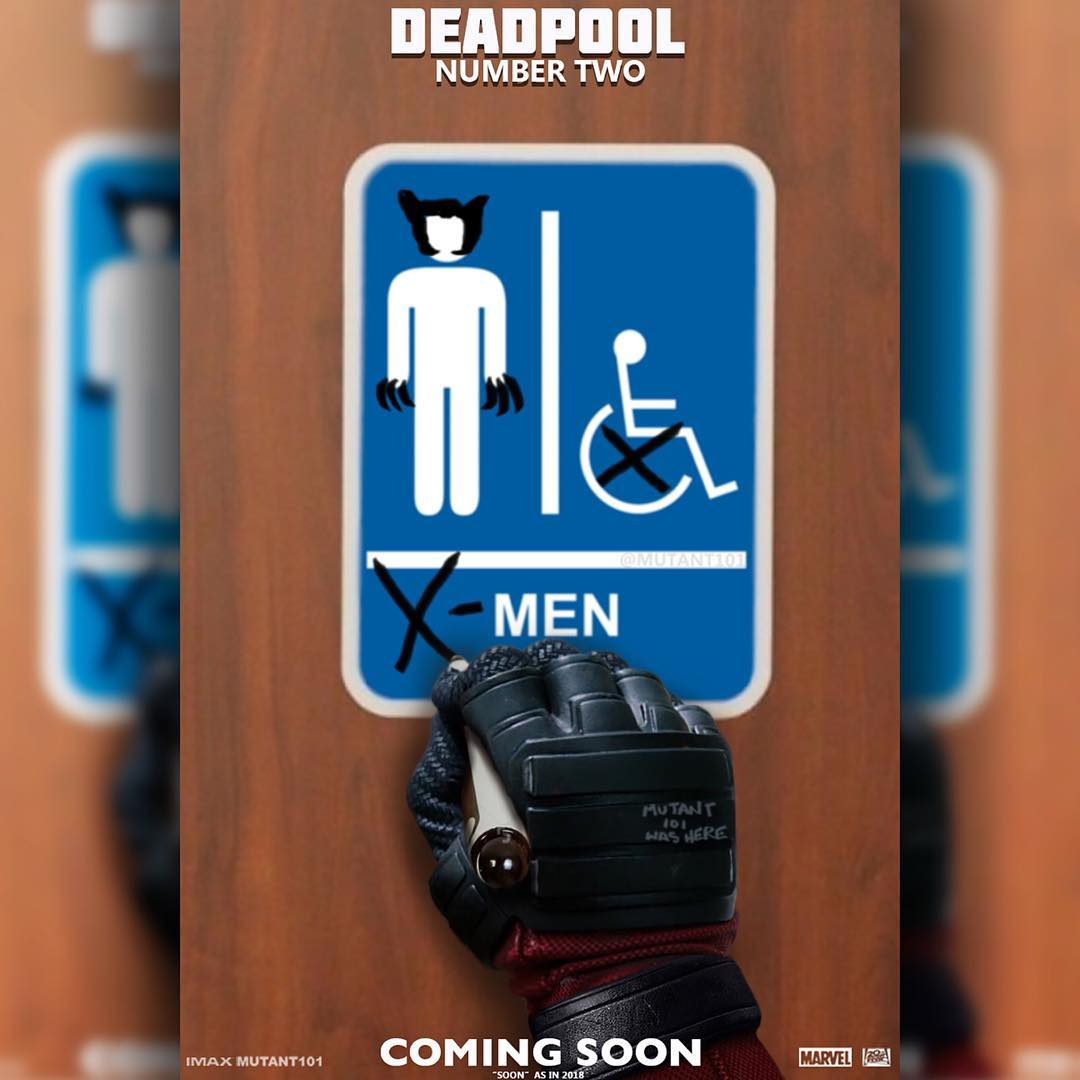 Deadpool 2 fan poster