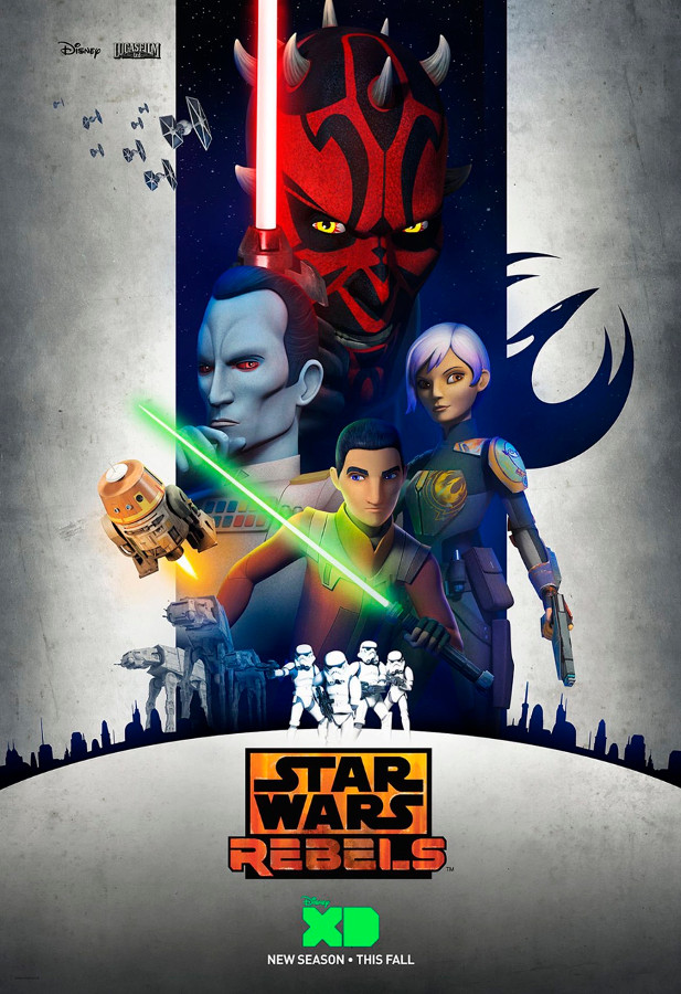 Star Wars Rebels s3 poster