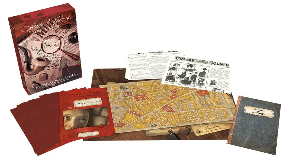 Sherlock Holmes Jack lo Squartatore materiale