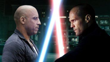 Toretto e Statham lightsabers