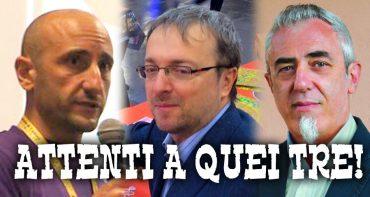 Walter Nuccio, Andrea Chiarvesio e Walter Obert al Modena Play 2017