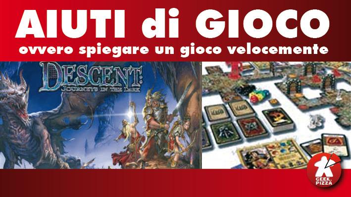 Aiuti di gioco descent vecchia edizione - Descent gioco da tavolo ...