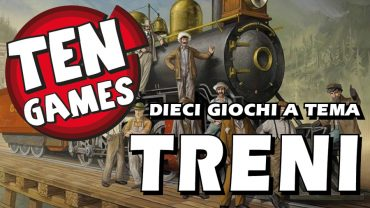 Ten Games – 10 giochi a tema Treni