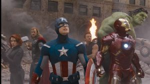 Scudo di Captain America in The Avengers