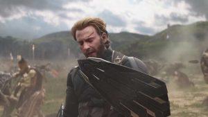 Scudo di Captain America in Avengers: Infinity War