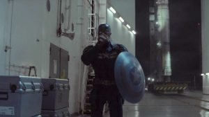 Scudo di Captain America in Captain America: The Winter Soldier