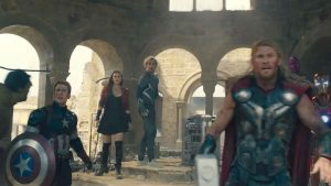 Scudo di Captain America in Avengers: Age of Ultron