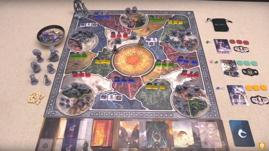 Mysthea - The Fall [Prototipo] - Immagine dal video di JonGetsGames
